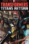 Cover Thumbnail for Transformers: Titans Return (2016 series)  [Subscription Cover - Priscilla Tramontano]