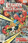 Cover for The Legion of Super-Heroes (DC, 1980 series) #308 [Canadian]