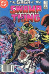 Cover for The Saga of Swamp Thing (DC, 1982 series) #22 [Canadian]
