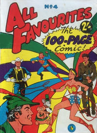 Cover Thumbnail for All Favourites, The 100-Page Comic (K. G. Murray, 1957 ? series) #4