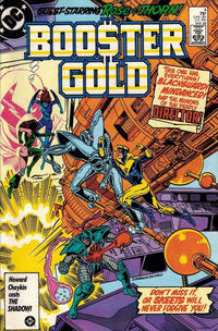 Cover Thumbnail for Booster Gold (DC, 1986 series) #4 [Direct]