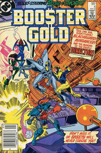 Cover Thumbnail for Booster Gold (DC, 1986 series) #4 [Canadian]