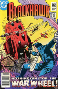 Cover Thumbnail for Blackhawk (DC, 1957 series) #252 [Canadian]