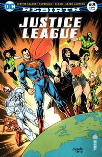 Cover Thumbnail for Justice League Rebirth (Urban Comics, 2017 series) #8
