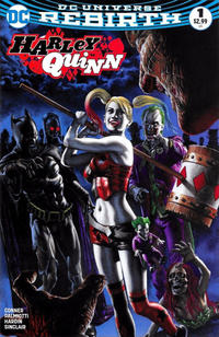 Cover for Harley Quinn (DC, 2016 series) #1 [Aspen Comics Exclusive Michael Turner Color Ultimate Puddin' Variant]
