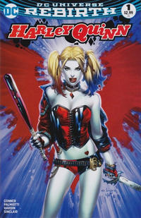 Cover Thumbnail for Harley Quinn (DC, 2016 series) #1 [Most Good Hobby Exclusive Eric Basaldua Color Variant]
