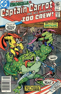Cover Thumbnail for Captain Carrot and His Amazing Zoo Crew! (DC, 1982 series) #19 [Canadian]