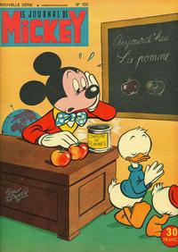 Cover Thumbnail for Le Journal de Mickey (Hachette, 1952 series) #103