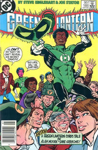 Cover Thumbnail for Green Lantern (DC, 1960 series) #188 [Canadian Newsstand]