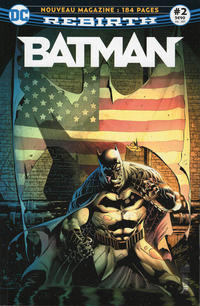 Cover Thumbnail for Batman Rebirth (Urban Comics, 2017 series) #2