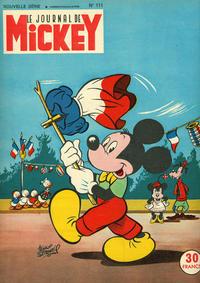 Cover Thumbnail for Le Journal de Mickey (Disney Hachette Presse, 1952 series) #111