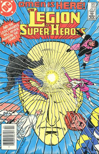 Cover Thumbnail for The Legion of Super-Heroes (DC, 1980 series) #310 [Canadian]