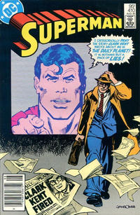 Cover Thumbnail for Superman (DC, 1939 series) #410 [Canadian]