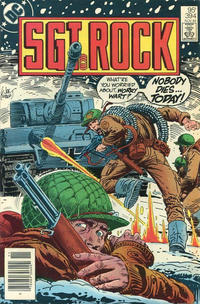 Cover Thumbnail for Sgt. Rock (DC, 1977 series) #394 [Canadian]