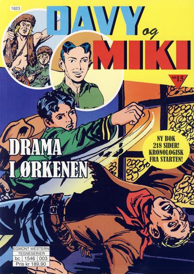Cover for Davy og Miki (Hjemmet / Egmont, 2014 series) #15