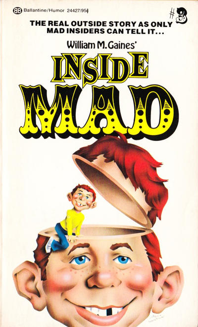 Cover for Inside Mad (Ballantine Books, 1955 series) #24427