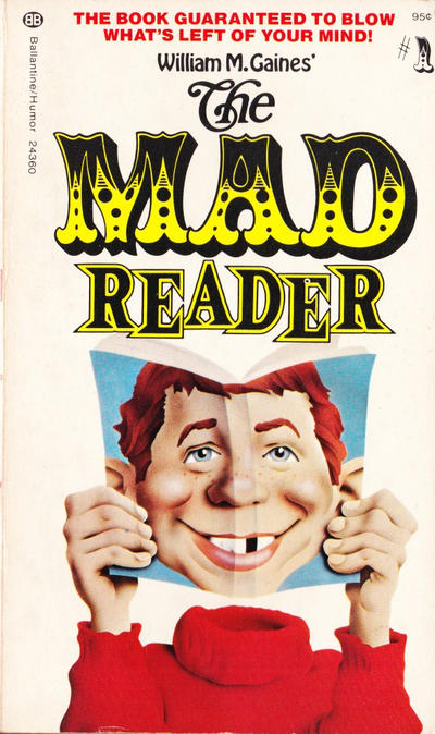 Cover for The Mad Reader (Ballantine Books, 1954 series) #24360 (1)
