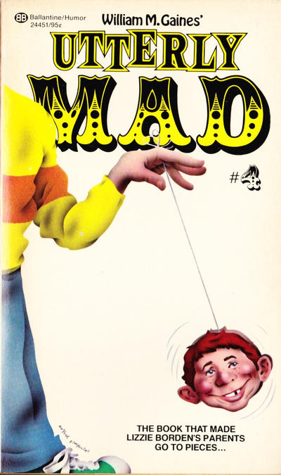 Cover for Utterly Mad (Ballantine Books, 1956 series) #4 (24451)