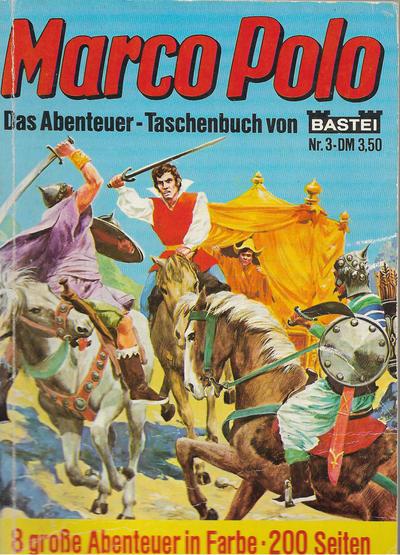 Cover for Das Abenteuer-Taschenbuch von Marco Polo (Bastei Verlag, 1979 ? series) #3