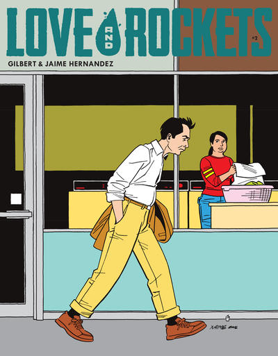 Cover for Love and Rockets (Fantagraphics, 2016 series) #2 [Fantagraphics Variant Cover]