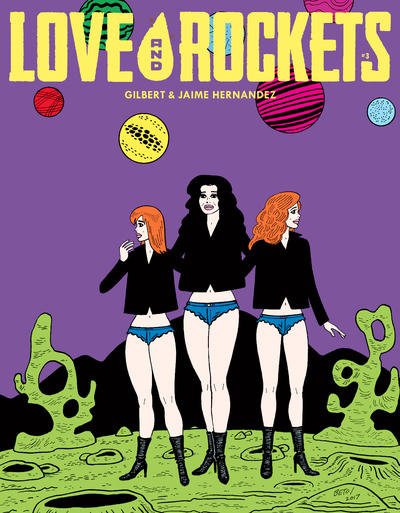 Cover for Love and Rockets (Fantagraphics, 2016 series) #3 [Fantagraphics Exclusive]