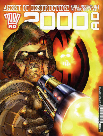 Cover for 2000 AD (Rebellion, 2001 series) #2078