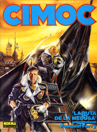 Cover for Cimoc (NORMA Editorial, 1981 series) #107