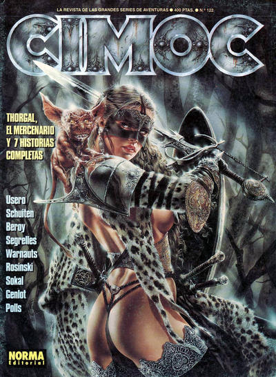 Cover for Cimoc (NORMA Editorial, 1981 series) #122