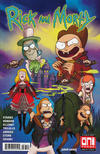 Cover for Rick and Morty (Oni Press, 2015 series) #37 [Cover A - Marc Ellerby]