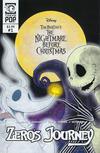 Cover for Disney Tim Burton's the Nightmare before Christmas: Zero's Journey (Tokyopop, 2018 series) #1 [Cover B]