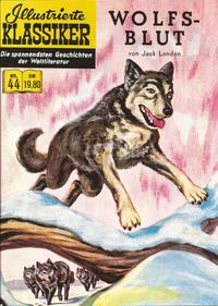 Cover Thumbnail for Illustrierte Klassiker [Classics Illustrated] (Norbert Hethke Verlag, 1991 series) #44 - Wolfsblut