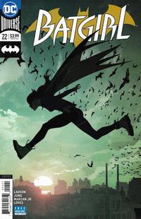 Cover Thumbnail for Batgirl (DC, 2016 series) #22 [Josh Middleton Variant]