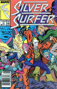 Cover Thumbnail for Silver Surfer (Marvel, 1987 series) #11 [Newsstand]