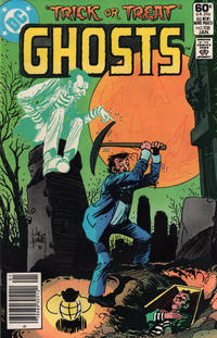 Cover Thumbnail for Ghosts (DC, 1971 series) #108 [Newsstand]