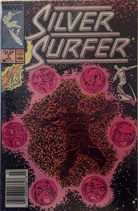 Cover Thumbnail for Silver Surfer (Marvel, 1987 series) #9 [Newsstand]