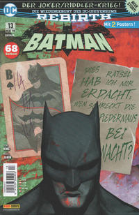 Cover Thumbnail for Batman (Panini Deutschland, 2017 series) #13