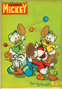 Cover Thumbnail for Le Journal de Mickey (Hachette, 1952 series) #478