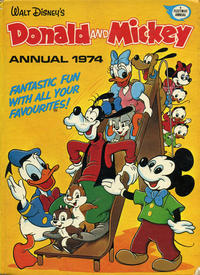 Cover Thumbnail for Donald and Mickey Annual (IPC, 1973 series) #1974