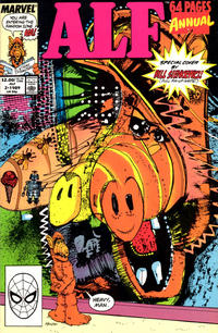 Cover Thumbnail for Alf Annual (Marvel, 1988 series) #2 [Direct]