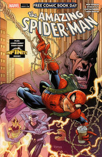 Cover Thumbnail for Free Comic Book Day 2018 (Amazing Spider-Man/Guardians of the Galaxy) (Marvel, 2018 series) #1