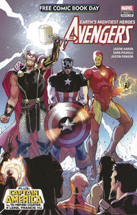 Cover Thumbnail for Free Comic Book Day 2018 (Avengers/Captain America) (Marvel, 2018 series) #1