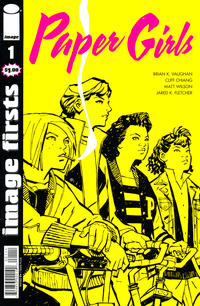 Cover Thumbnail for Image Firsts: Paper Girls (Image, 2016 series) #1