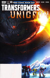Cover Thumbnail for Transformers: Unicron (IDW, 2018 series) #0