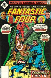 Cover Thumbnail for Fantastic Four (Marvel, 1961 series) #187 [Whitman]