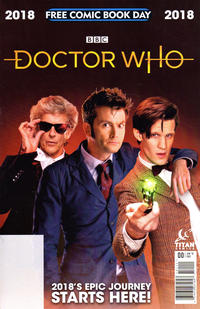 Cover Thumbnail for Doctor Who: Free Comic Book Day 2018 (Titan, 2018 series) #1