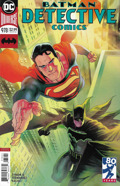 Cover for Detective Comics (DC, 2011 series) #978