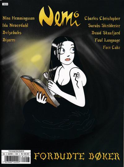 Cover for Nemi (Gyldendal Norsk Forlag, 2018 series) #163