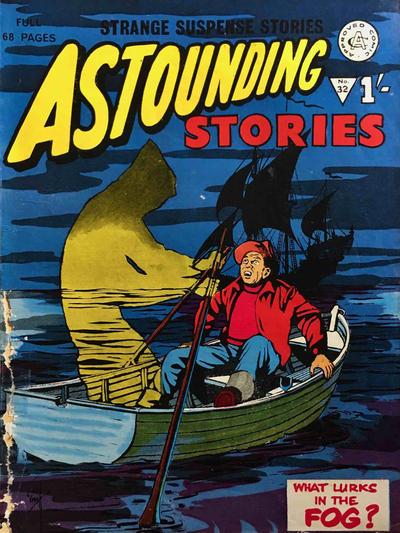 Cover for Astounding Stories (Alan Class, 1966 series) #32