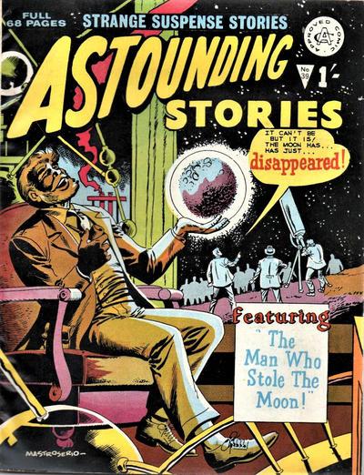 Cover for Astounding Stories (Alan Class, 1966 series) #39