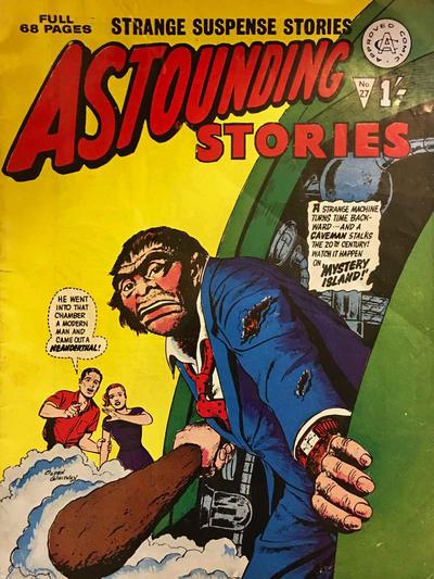 Cover for Astounding Stories (Alan Class, 1966 series) #27